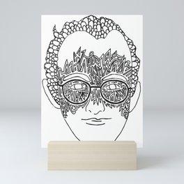 Keith Haring Tribute #1 Mini Art Print
