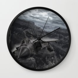 Tornado alley Wall Clock