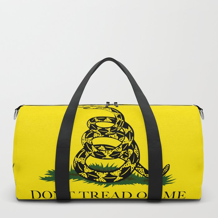 "Gadsden ""Don't Tread On Me"" Flag, High Quality image Duffle Bag"