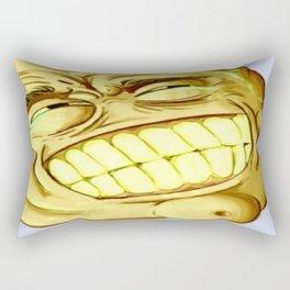 sick lemon Rectangular Pillow