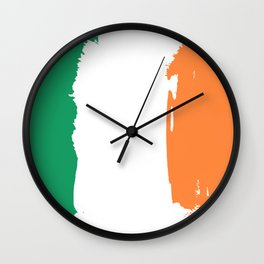 Flag of Irland Wall Clock