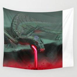 Dragon Lava Wall Tapestry