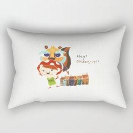 Mr. K  Rectangular Pillow