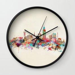 Lincoln nebraska Wall Clock