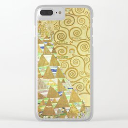 Gustav Klimt Expectation Woman Painting Clear iPhone Case