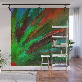 Funky Bright Flower Wall Mural