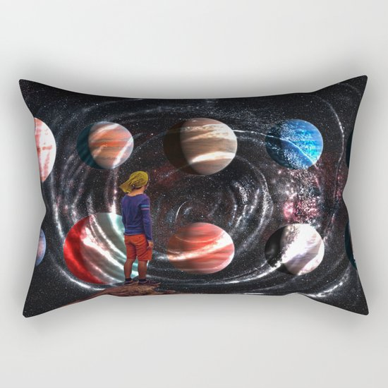 Planets Rectangular Pillow