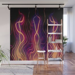 Blacksmith's Forge - Abstract Art Wall Mural