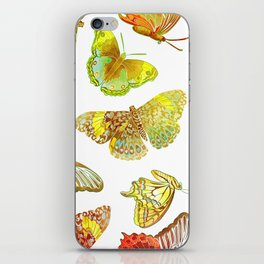 Butterfly Obsession iPhone Skin