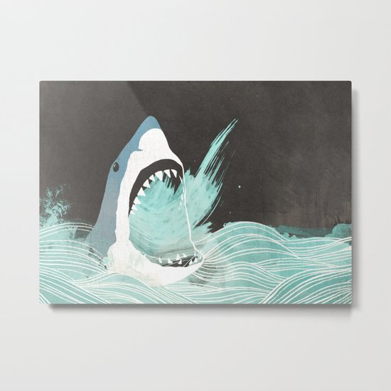 Great White Metal Print