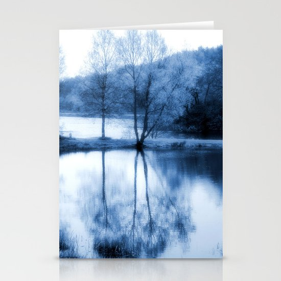 Lake Nights Stationery Cards