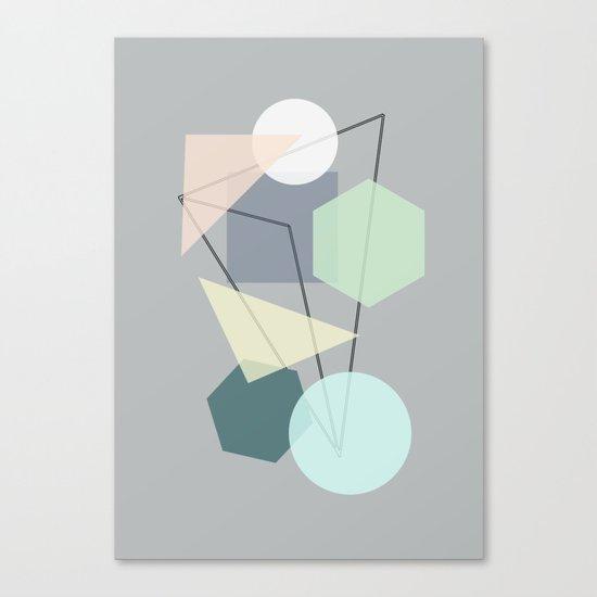 Graphic 113 Canvas Print