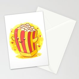 Pop Corn Fun Stationery Cards