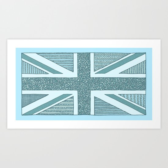Lovely UK 2 Art Print