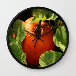 Waiting For Halloween Wall Clock