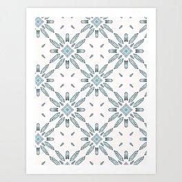Sacred Esoteric Quartz Crystal Magic Art Print
