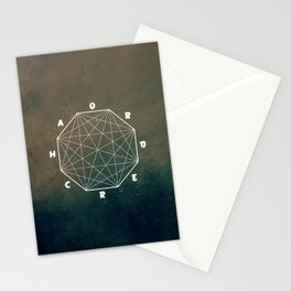 chaos out of ord... Stationery Cards