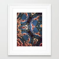 oriental Framed Art Prints featuring Oriental by Shereen Yap