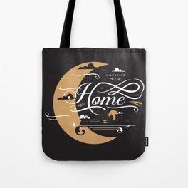 Milwaukee Home Moon Tote Bag