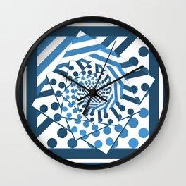 Square Rose Wall Clock