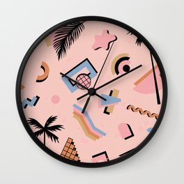 Venice CA vibes Wall Clock