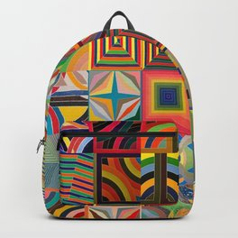 Frank Stella Montage Backpack