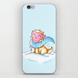 Snowy Monkey iPhone Skin