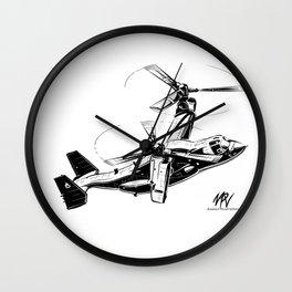 V-22 Osprey Wall Clock