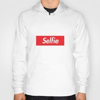 supreme Hoodies featuring Selfie Supreme by RexLambo