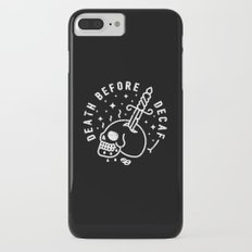 Death Before Decaf iPhone 7 Plus Slim Case