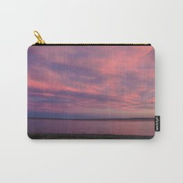 Dusk, Fort Peck Lake Carry-All Pouch