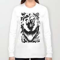 carnage Long Sleeve T-shirts featuring carnage by Rebecca McGoran