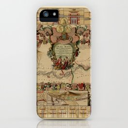 Canal Du Midi 1697 iPhone Case