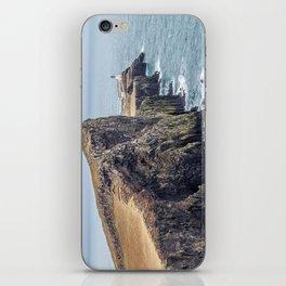 Lighthouse rock ocean iPhone Skin