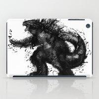 godzilla iPad Cases featuring GODZILLA  by jun salazar