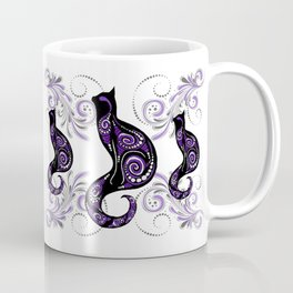 Swirly Cats Coffee Mug