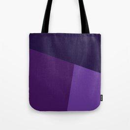 dégradé trapèze mauve Tote Bag