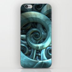Gone Spiral iPhone & iPod Skin