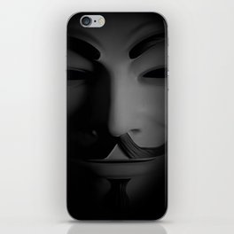 Men in a Mask iPhone Skin