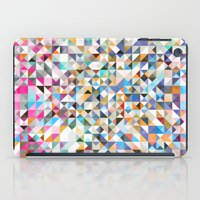 confetti iPad Cases featuring Confetti by FRAXTURED