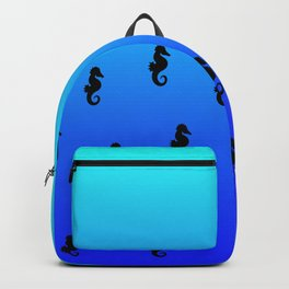 Under the Sea(horse)-Light to Dark Backpack