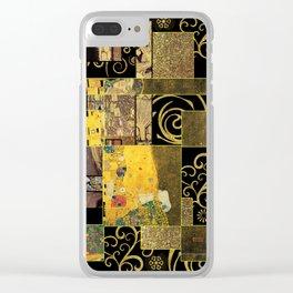 Klimt art Clear iPhone Case