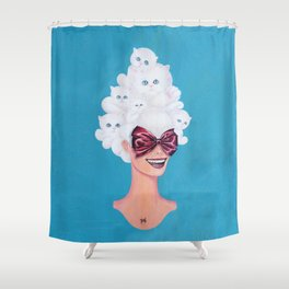 I Can Haz Hairdo Shower Curtain