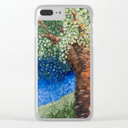 Park Tree Clear iPhone Case