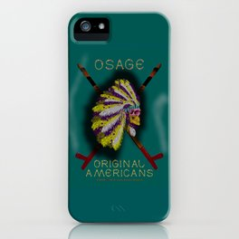 OSAGE - 001 iPhone Case