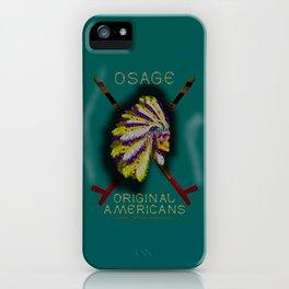 OSAGE - 001 iPhone Case