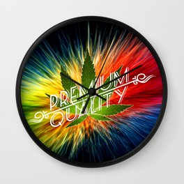 Live the High life  Wall Clock