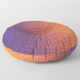 Moiré, No. 10 Floor Pillow
