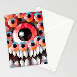 Eyeball Monster Stationery Cards