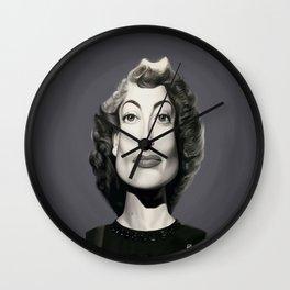 Joan Crawford Wall Clock